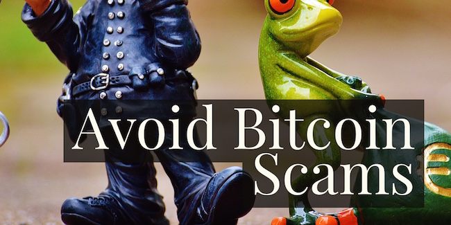 Avoid Bitcoin Scams