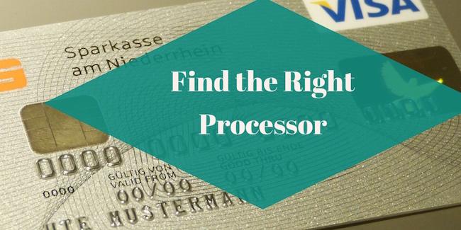 find the right processor
