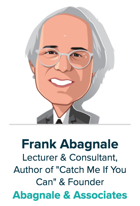 Frank Abagnale - Money 2020