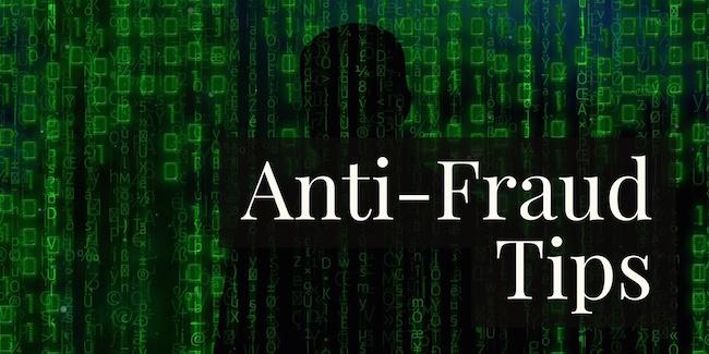 Anti-Fraud Tips
