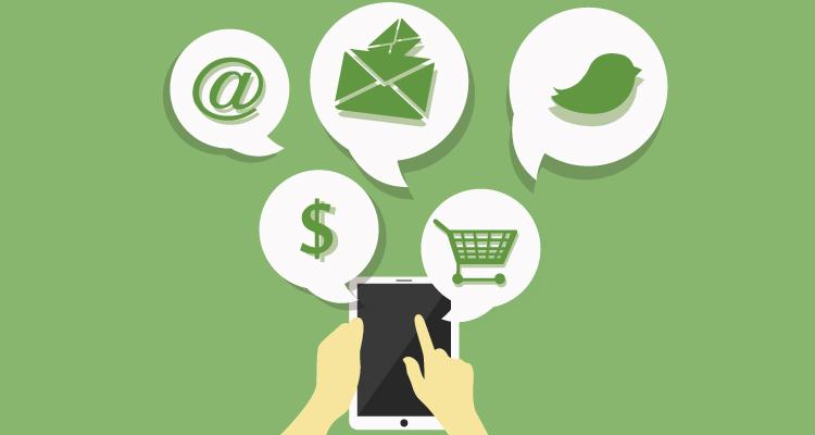 Reward loyal fans through social media and texts.