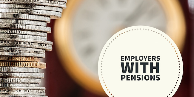 Employers with Pensions