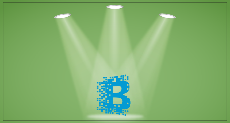 The blockchain entered the spotlight