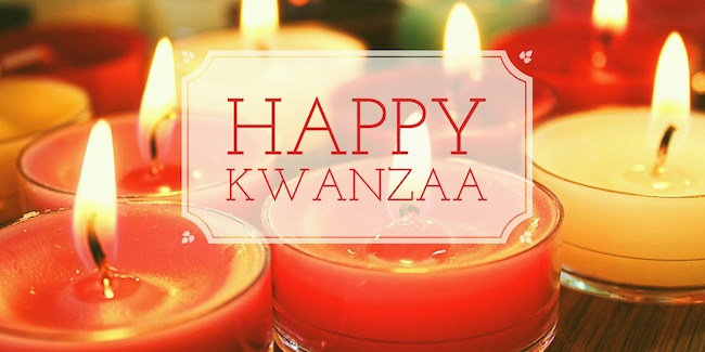 Happy Kwanzaa Everyone