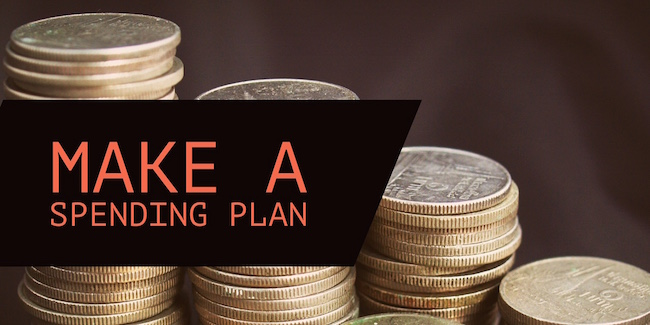 Make A Spending Plan