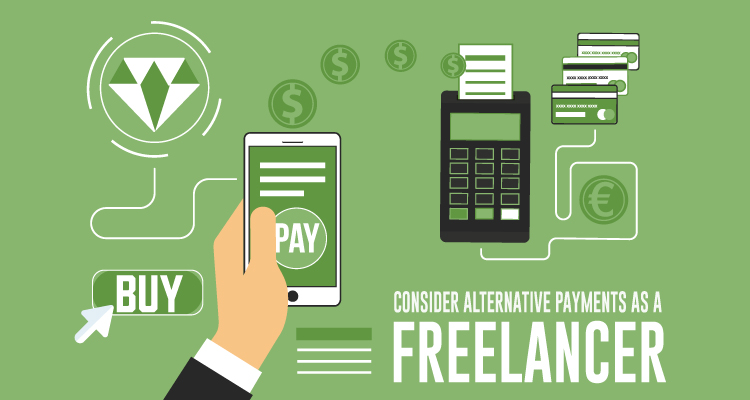 CONSIDER ALTERNATIVE PAYMENTS AS A FREELANCER