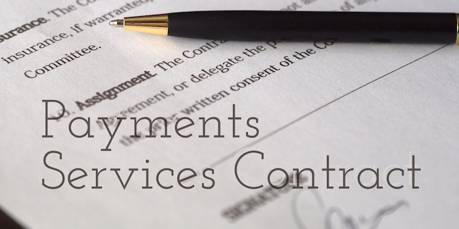 Payments Services Contract