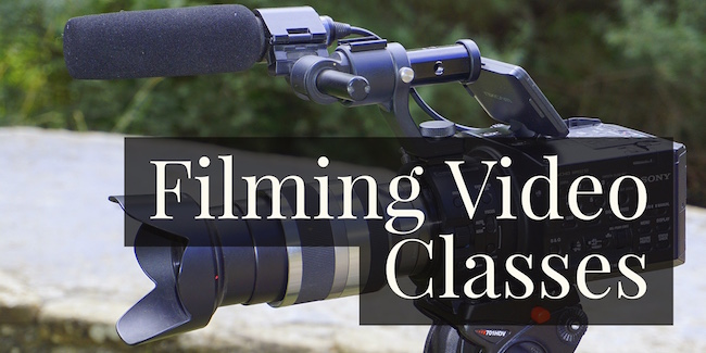Filming Video Classes