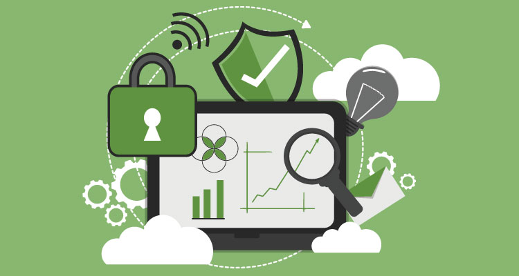 What security measures are in place to keep my businesses and my customers' data secure