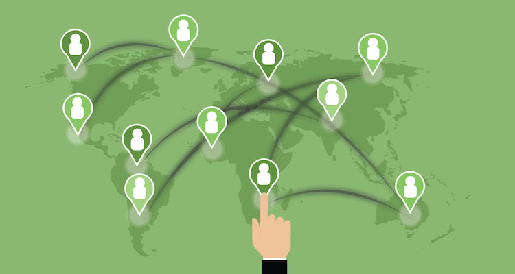 Networking around the world
