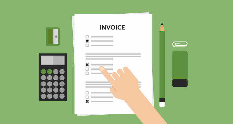 how an invoice works