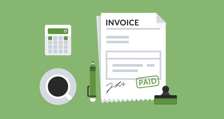 show off your invoice