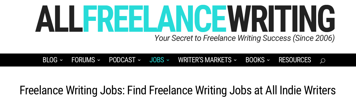 places to lance writing jobs writers can search for jobs based on date or pay range in a variety of categories you can subscribe to feed readers like feedly
