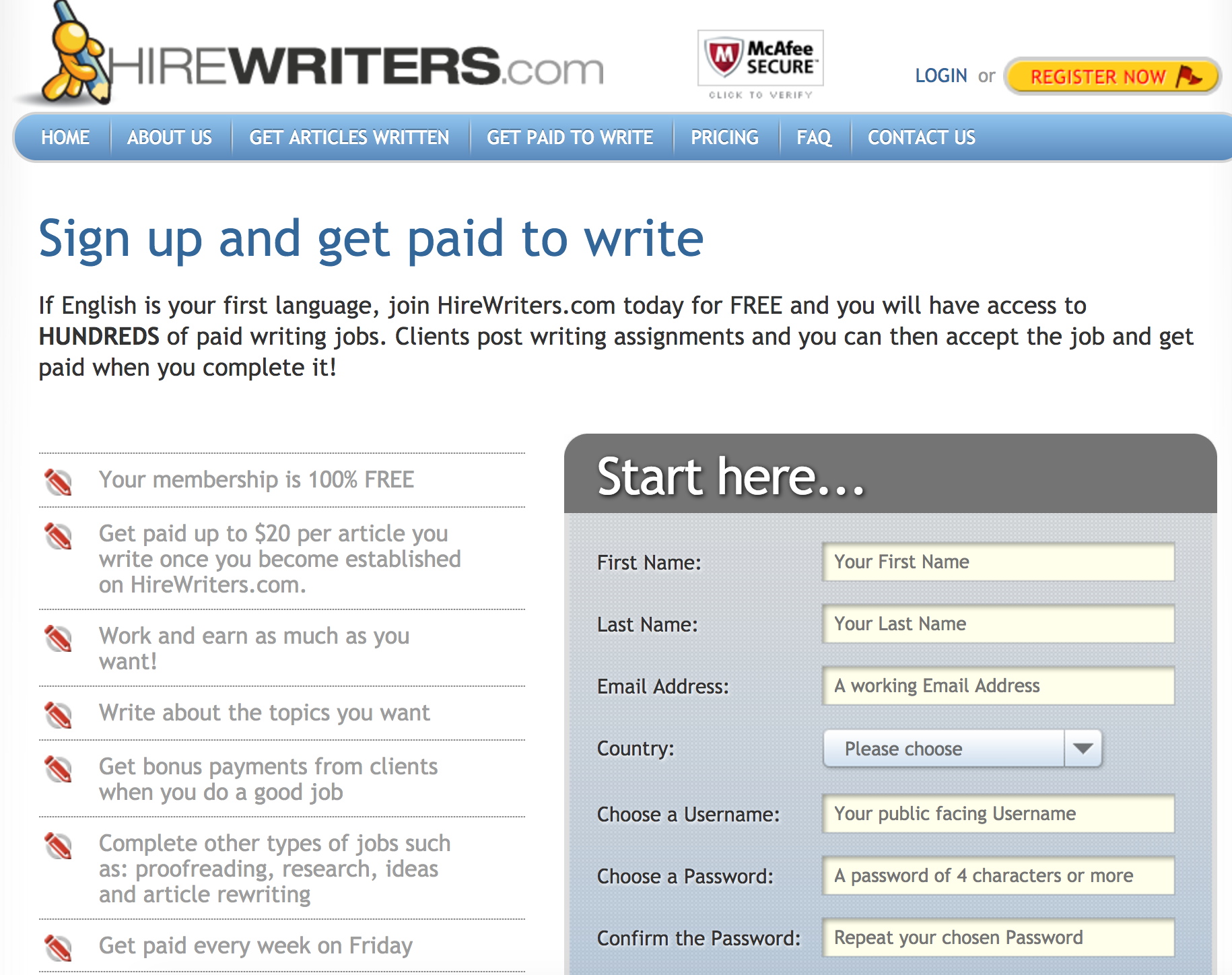 HireWriters Review   RedScams Pandia com How to Hire Writers for Niche   Authority Sites  without stress