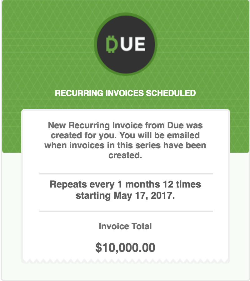 How To Use Recurring Invoices Due - What is recurring invoice for service business