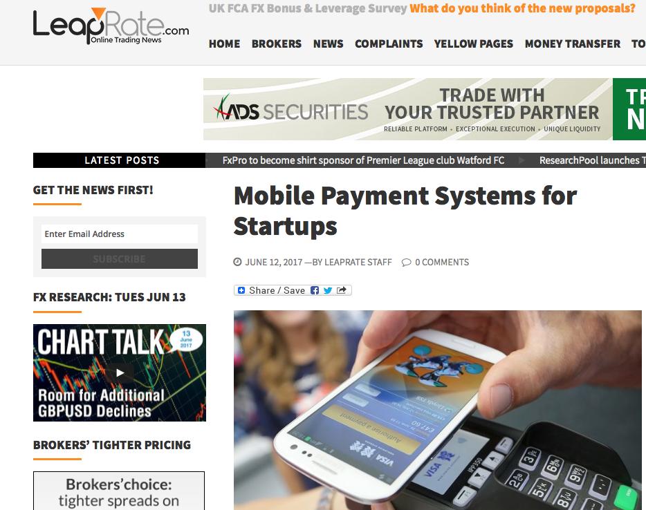 MobilePaymentSystemsStartups