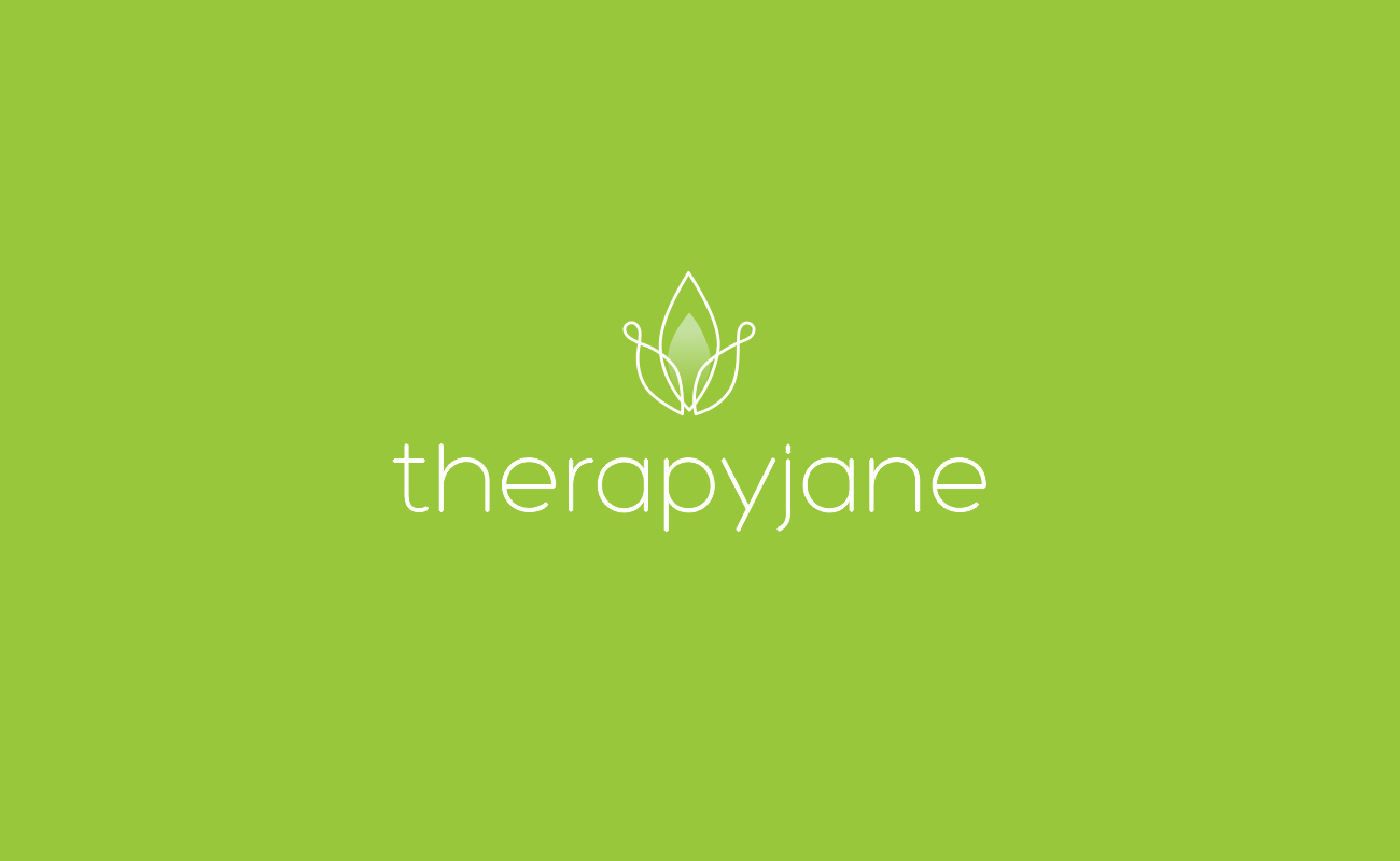 green therapy logo design