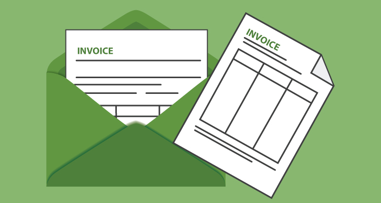 invoicing by mail