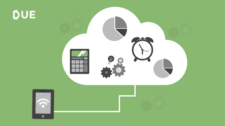 accounting in the cloud through mobile