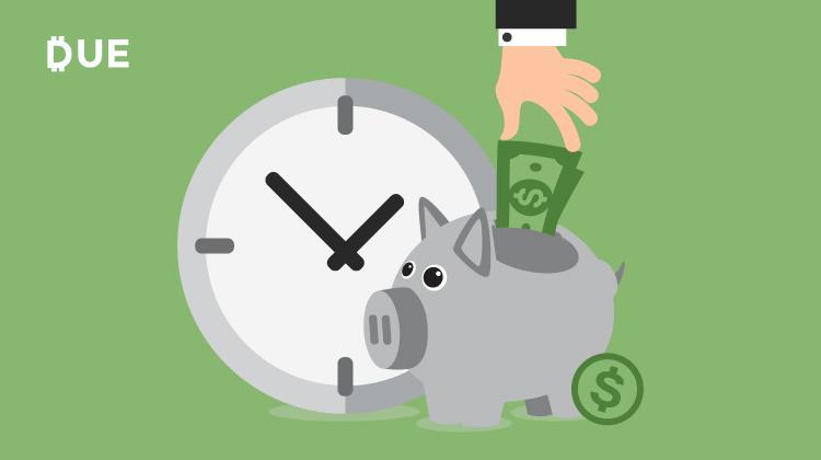 cloud accounting piggy bank savings