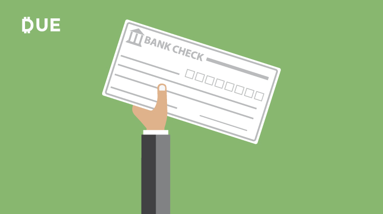 paying by checking