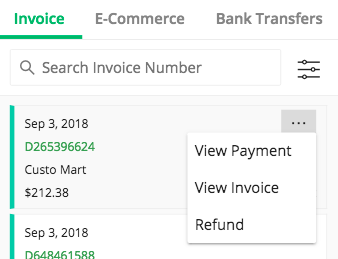 How to refund an Invoice Payment – Due